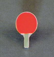 Table Tennis Bat Pin Badge