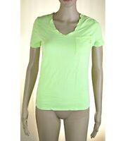 T-Shirt Maglia Donna Top VIOLET ATOS LOMBARDINI Italy L256 Verde Chiaro Tg 40