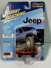 Jeep Cherokee XJ Amber Fire 1:64 Johnny Lightning JLCG021B