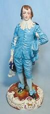 19TH CENTURY CONTINENTAL FIGURINE THE BLUE BOY  FROM GAINSBOROUGH PAINTING