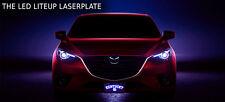 THE LED LITEUP LASERPLATE - Custom License Plate - CustomPlatesandHitch.com