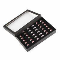 36 Ablagefächer Schmuck Display Ohrring Ring Box Veranstalter Lagerung Tray