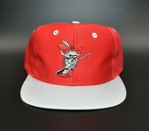 UNLV Rebels Vintage 90's Logo 7 Competitor Snapback Cap Hat - NWT