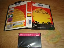 SEGA MASTER SYSTEM *** EL REY LEON (The Lion King) - Disney Classic Games