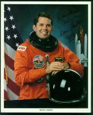 NASA, 8x10 photo, Signed-Autographed by Astronaut Dave Leestma 2, Atlantis