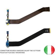 CONNETTORE RICARICA SAMSUNG GALAXY TAB 3 GT P5200 P5210 FLAT FLEX DOC+ MICROFONO