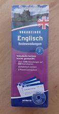 Vokabelbox Englisch Redewendungen Vokabeln Lernen Leicht Gemacht - New & Sealed!