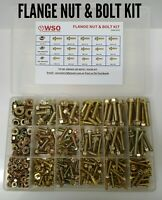 FLANGE BOLT & NUT KIT SUITS NISSAN S13 14 15 SYLVIA 180SX 200SX