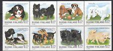 Finlande: 1998 world dog show, helsinki booklet pane SG1521a neuf sans charnière