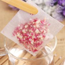 100Pcs Empty Tea Bags Corn Fiber Fold Close Heat Seal Filter Paper Tea InfuserLJ