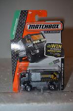 2013 Matchbox. 2006 DESERT THUNDER V16 MBX EXPLORERS T-REX TRANSPORTER