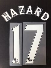 2012/13/14 CHELSEA FC #17 HAZARD HOME NAME SET