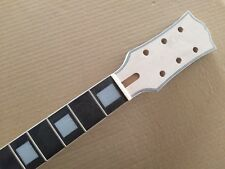 Unfinished  22 Fret Guitar Neck mahogany Rosewood fingerboard for  LP style