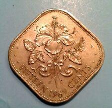 Bahama Islands 15 Cents coin 1969