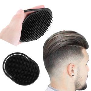 Travel Hand Pocket Comb Brush Men Hair Combs Scalp Massager Black