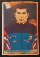 1998 Bonart FIFA 98 #137 Zinedine Zidane France Juventus Football WC Rookie RARE