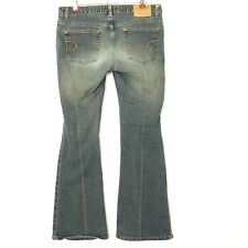 American Eagle Womens Jeans Flare Bootcut Size 8 Regular X 31 Distressed Stretch