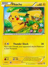 Pikachu Common Pokemon Card XY3 Furious Fists 27/111