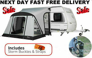 New 2021 Dorema Quick And n Easy 265 Air Inflatable Blow Up Caravan Porch Awning