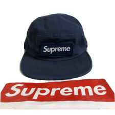 Preowned Supreme Military Camp Cap Navy SS18