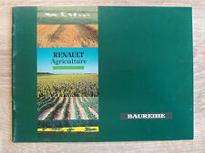Original Renault Traktor Agriculture  Prospekt