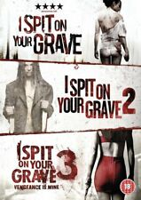 I Spit On Your Grave Trilogy (3 Fims) DVD | (Sarah Butler)
