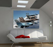 F18S And F16S large giant avia poster print photo mural wall art ic008