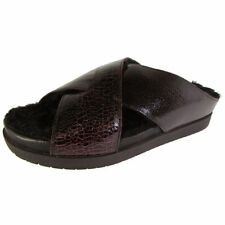 Leather Medium Width (B, M) Slip On Sandals for Women