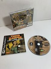 Tomb Raider: The Last Revelation PlayStation 1 Ps1 Complete Black Label Vgc