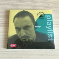 Mango _ Playlist _ CD Album digipak PROMO _ 2016 Rhino NUOVO SIGILLATO