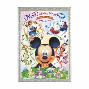 Mickey & Amis Puzzle Tokyo Disneyland Neuf Area Ouvert Memorial 2020