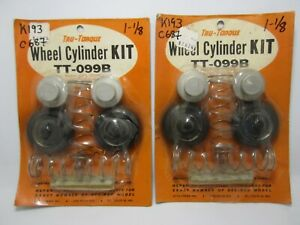 56-62 Chrysler Desoto Dodge Plymouth 1-1/8 Wheel Cylinder Kit Pair (2) K193