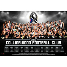 AFL - 2016 Team Posters Collingwood POSTER 61x91cm NEW * Footy