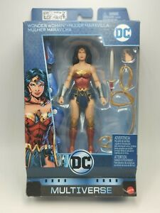 Dc Multiverse series 9 Rebirth Wonder Woman figure collect & connect Lex Luthor