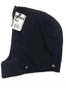 * Carhartt S-XL Arctic Quilt Midnight Blue Attachable Replacement Hood 102367403