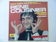 RENE COUSINIER Soyons sérieux.... 885555 BY