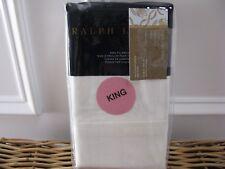Ralph Lauren PENTHOUSE SUITE COCO DE MER Cream King Pillowcases $215