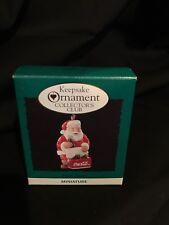 Hallmark Keepsake Ornament Collector's Club Miniature Cool Santa Coca Cola
