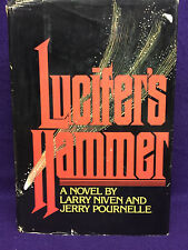 LUCIFER'S HAMMER - Larry Niven & Jerry Pournelle - 1st Printing - HC/DJ - VG/NVG