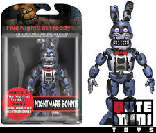 "FUNKO FIVE NIGHTS AT FREDDY'S NIGHTMARE BONNIE 5"" ACTION FIGURE 11844 - IN STOCK"