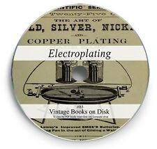 Electroplating Metal 66 Rare Books on DVD Make Jewelry Kit Silver Zinc Nickel B3