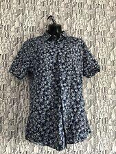 Topman Floral Summer Shirt M Slimfit  Chest 38-40 100% Cotton