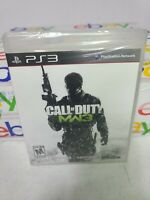 Call of Duty: Modern Warfare 3 PS3 Sony New Sealed MW3 Ships Fast Within 24hr