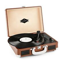 RETRO RECORD PLAYER SUITCASE PORTABLE VINYL VINTAGE TURNTABLE 33 45 78 USB