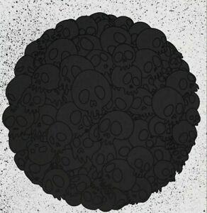 Takashi Murakami Black Skulls Round BLM Black Lives Matter Print /300 NTWRK