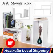 DIY Desk Storage Display Shelf Organizer Home Office Counter Bookcase Rack Unit