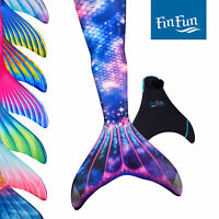Fin Fun Limited Mermaid Tails for Swimming - Adult Sizes - with Monofin