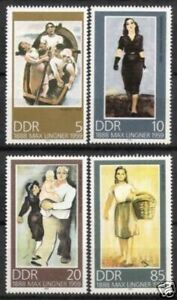 DDR Nr.3209/12 ** Max Lingner 1988, postfrisch