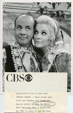 MARY COSTA PRETTY TIM CONWAY PORTRAIT THE JIM NABORS SHOW ORIG 1969 CBS TV PHOTO