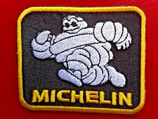 MICHELIN MAN TYRES RUNNING CLASSIC MOTORSPORT RACING EMBROIDERED PATCH UK SELLER